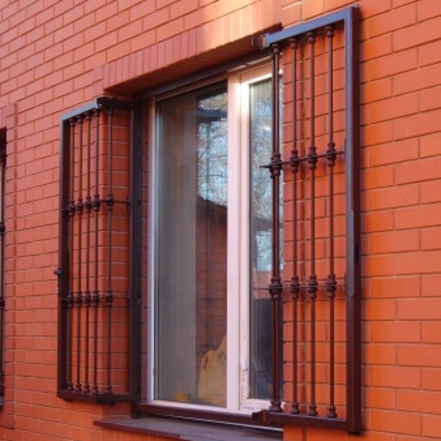 Распашные решетки на окна купить в каталоге с ценами от элит.