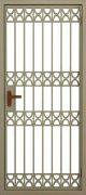 Тамбурная решетчатая дверь №5